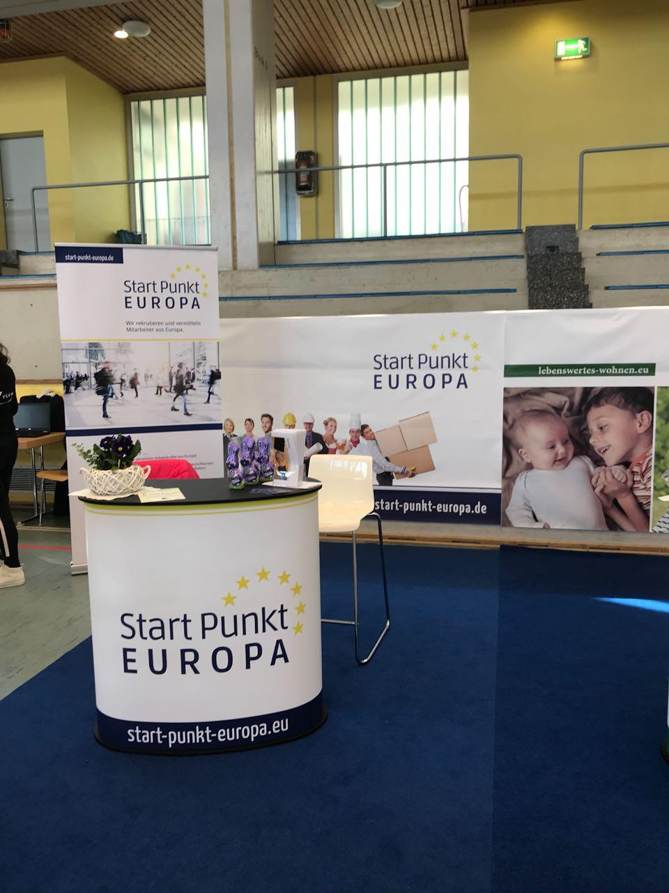 Messestand der Startpunkt Europa GmbH